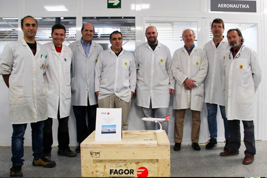 Fagor Electrónica delivers its 100th flight equipment to Airbus