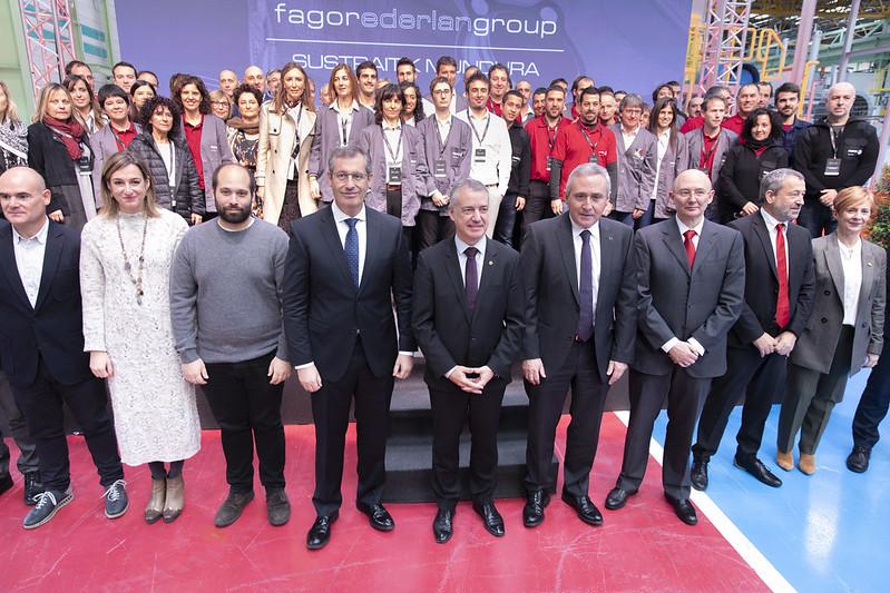 Lantegia inauguratu du Fagor Ederlanek Bergaran