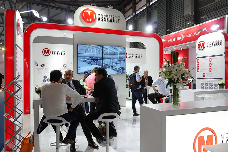 "Mondragon Assembly shows its solutions at ""Intersolar India"""