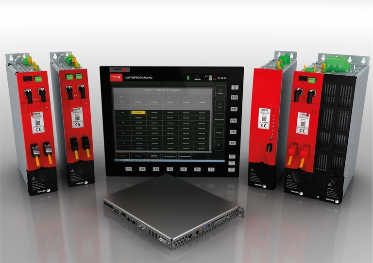 Fagor Automation has developed QUERCUS, the CNC automation system