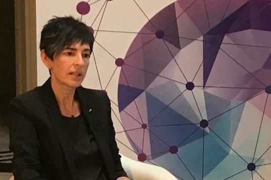 """Leire Okaranza: """"El euskera necesita nuevos discursos que integren el ámbito socioeconómico"""""""