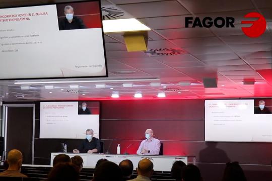 Asambleas Generales telemáticas: Fagor Ederlan