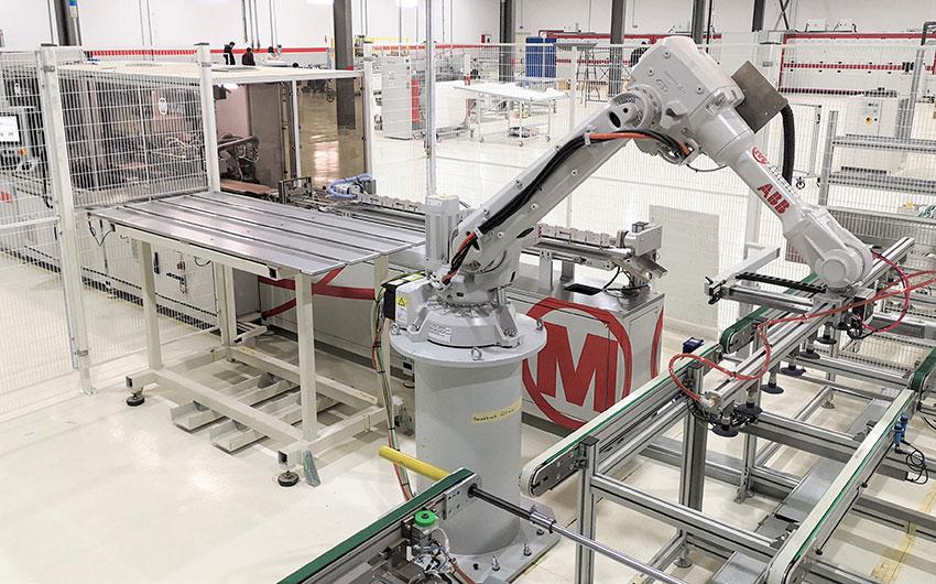 La línea 100 MW PV de Mondragon Assembly está en plena producción en Argelia