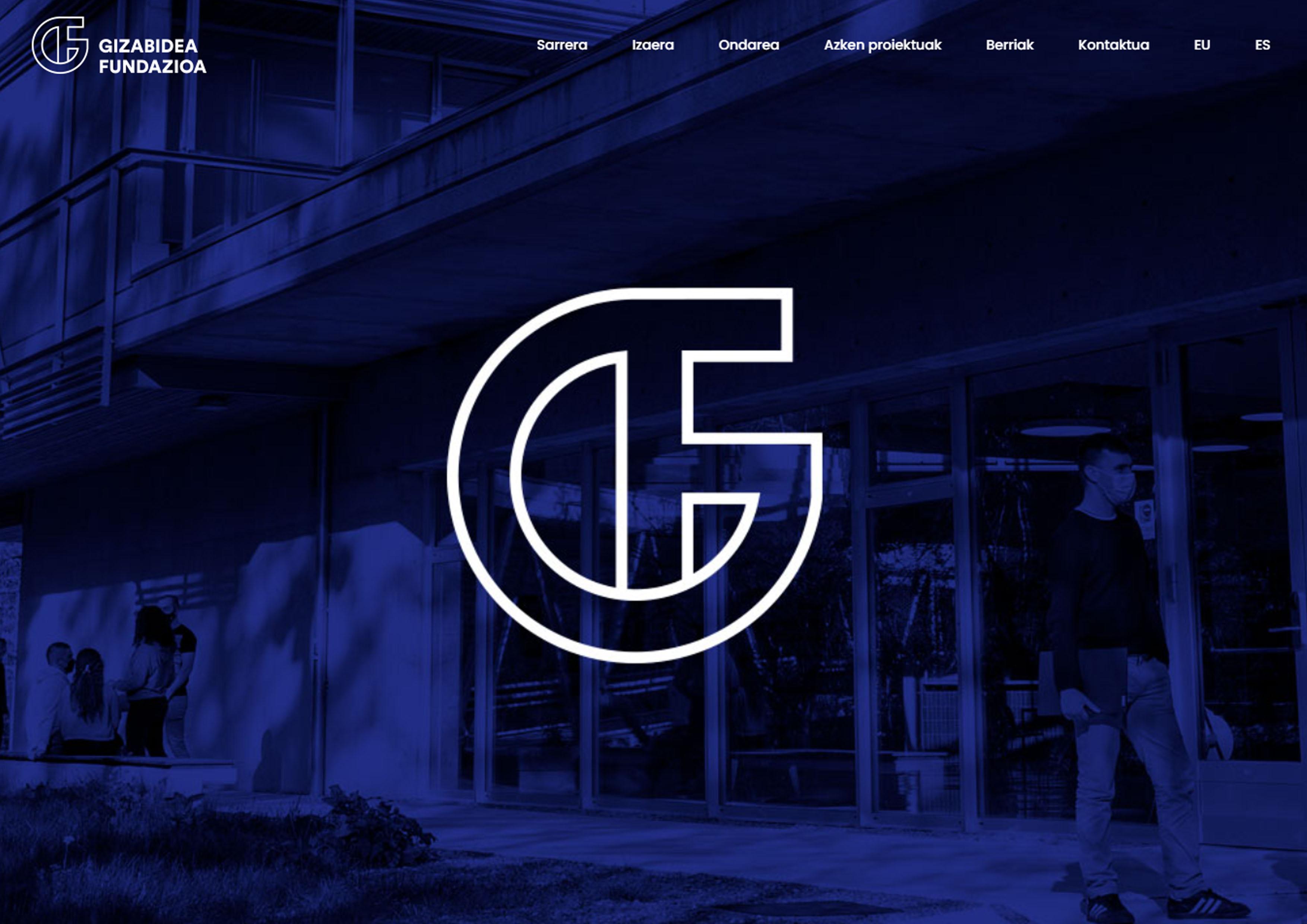 La Fundación Gizabidea presenta su propia web con la intención de acercarse a la comunidad